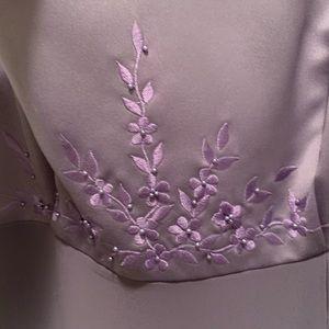 Embellished beautiful prom dress Lavender
